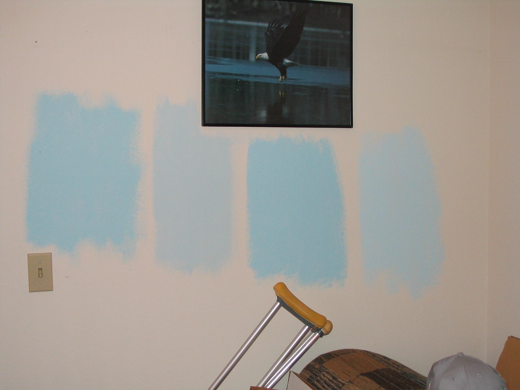 Benjamin moore paint samples for Light sky blue paint